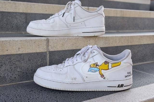 Homer Simpson Air Force 1 – Jordan